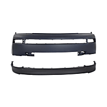 Replacement Valance and Bumper Cover Kit - Front, OE Replacement