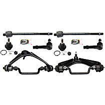 Sway Bar Link, Ball Joint, Control Arm And Tie Rod End Kit