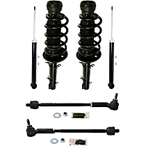Tie Rod Assembly - Rear, Driver and Passenger Side, Set of 6