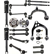 Front OE Replacement Loaded Strut Assembly - Set of 18