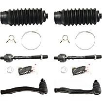 Replacement KIT1-030619-11-B Steering Rack Boot - Direct Fit, 6-Piece Kit