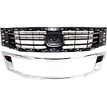 Grille Assembly - Paintable Shell and Insert, NSF Certified, with Grille Trim