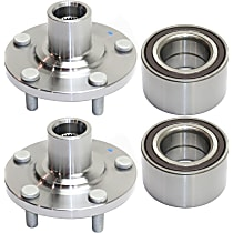 Replacement Wheel Bearing and Wheel Hub