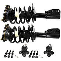 Replacement Shock Absorber and Strut Assembly and Ball Joint Kit