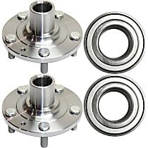 Replacement Wheel Bearing and Wheel Hub