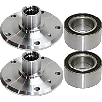 Wheel Bearing and Wheel Hub