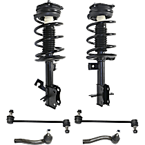 Sway Bar Link, Tie Rod End And Shock Absorber And Strut Assembly Kit