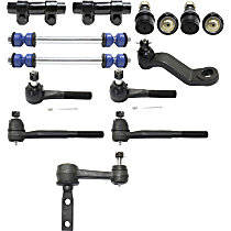 Idler Arm, Ball Joint, Tie Rod End, Pitman Arm, Sway Bar Link and Tie Rod Adjusting Sleeve Kit