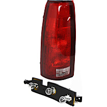 Tail Light Circuit Board - Driver Side, Plastic, Direct Fit, Set of 2