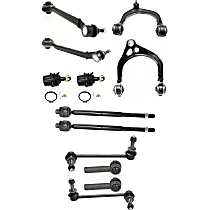 Ball Joint - Front, Driver and Passenger Side, Lower, Rearward