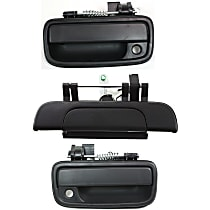 Replacement Exterior Door Handle and Tailgate Handle Kit - KIT1-031915-43-A - Black, Front and Rear