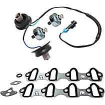 Intake Manifold Gasket, Knock Sensor Harness and Knock Sensor Kit