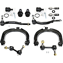 Tie Rod End, Ball Joint, Sway Bar Link and Control Arm Kit