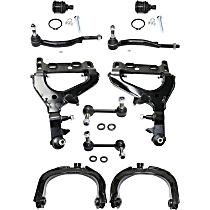 Control Arm, Sway Bar Link, Tie Rod End and Ball Joint Kit