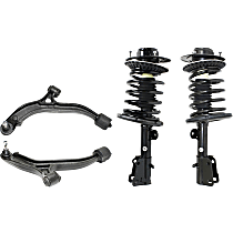 Replacement Control Arm and Shock Absorber and Strut Assembly Kit