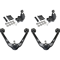 Control Arm - Front, Driver or Passenger Side, Upper, RWD, For Models with Front Coil Spring, with Lower Ball Joints