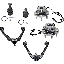 Ball Joint, Control Arm and Wheel Hub Kit