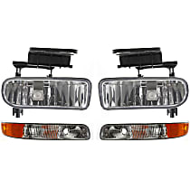 Fog Light - Driver and Passenger Side, with Right and Left Parking Lights