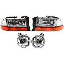 Replacement Headlight and Fog Light