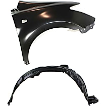 Fender Liner - Front, Passenger Side, with Right Fender