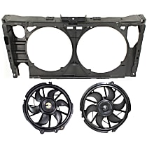 Replacement Cooling Fan Assembly and Radiator Support
