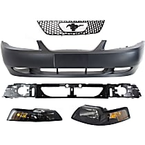Bumper Cover, Headlight, Grille Assembly and Header Panel Kit