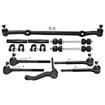 Center Link, Sway Bar Link, Tie Rod Adjusting Sleeve, Tie Rod End and Idler Arm Kit