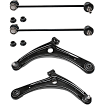Control Arm Kit Front Lower Driver and Passenger Side, With Sway Bar Link