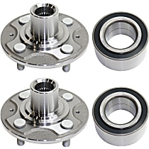 Wheel Bearing - Front, Driver and Passenger Side, Set of 4
