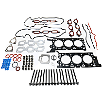 Replacement Head Gasket Set and Cylinder Head Bolt Kit