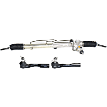 Replacement Steering Rack and Tie Rod End