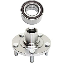 Front, Driver or Passenger Side Wheel Hub and Bearing Assembly
