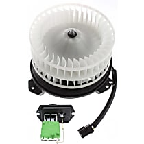 Replacement Blower Motor and Blower Motor Resistor