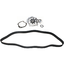 Replacement Timing Belt Kit, Timing Belt and Water Pump