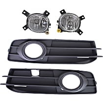 Fog Light Trim - Driver and Passenger Side, Black, with Black Trim, with Sport Package, with Right and Left Fog Lights