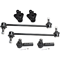 Replacement Suspension Kit, Tie Rod End, Sway Bar Link and Ball Joint Kit