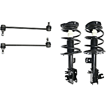 Replacement Shock Absorber and Strut Assembly and Sway Bar Link