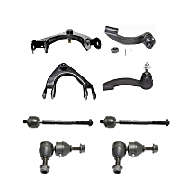 Replacement Tie Rod End, Control Arm and Sway Bar Link Kit