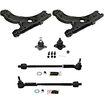 Control Arm, Tie Rod Assembly and Ball Joint