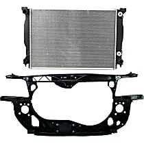 Radiator, 6cyl Eng. and Radiator Support