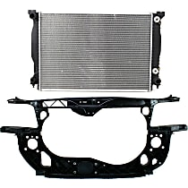 Radiator Support - 3.0 Liter Engine, Except Cabriolet Model, with Radiator