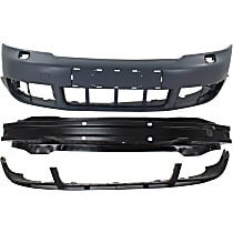 Replacement Bumper Reinforcement, Bumper Cover and Valance Kit