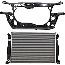 Radiator Support - 1.8 Liter Engine, Except Cabriolet Model, with Radiator