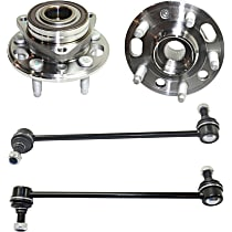 Sway Bar Link And Wheel Hub Kit