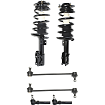 Tie Rod End, Shock Absorber and Strut Assembly and Sway Bar Link Kit
