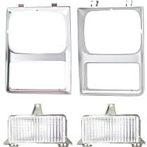 Replacement Parking Light and Headlight Door Kit