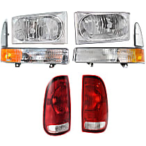 Replacement Tail Light, Headlight and Corner Light Kit