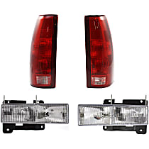 Headlight and Tail Light Kit - DOT/SAE Compliant