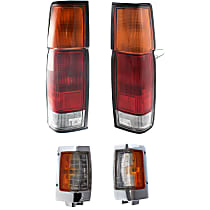 Replacement Tail Light and Corner Light Kit - Amber, DOT/SAE Compliant