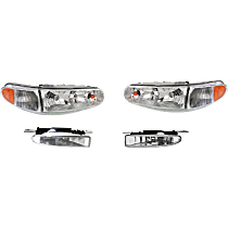 Headlight and Fog Light Kit - DOT/SAE Compliant